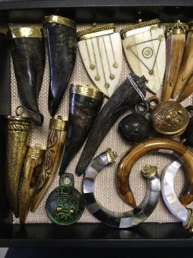 bone & horn pendants